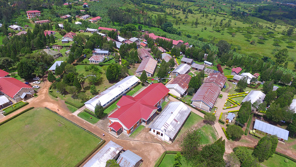bweranyangi as seen from above